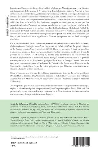 4eme Histoire et politique dans la vallée du fleuve Sénégal : Mauritanie
