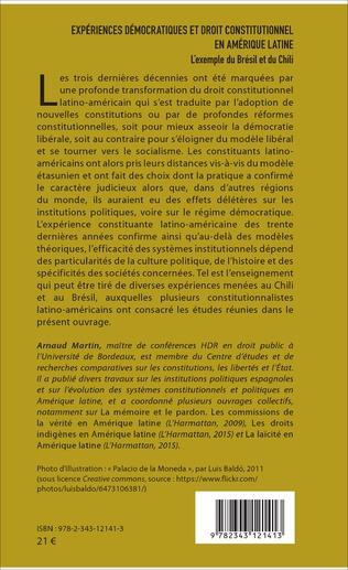 4eme Expériences démocratiques et droit constitutionnel en Amérique latine