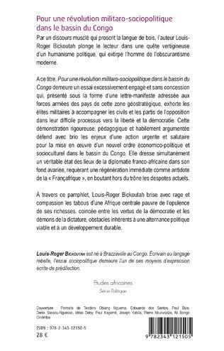 4eme Pour une révolution militaro-sociopolitique dans le bassin du Congo