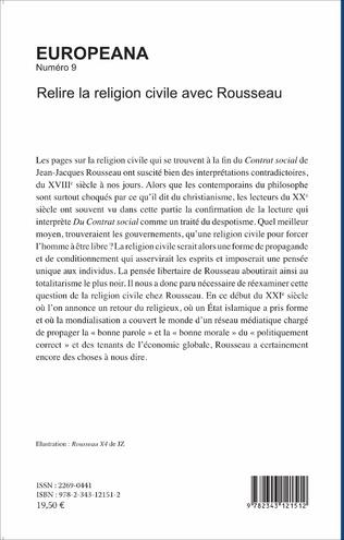 4eme Relire la religion civile avec Rousseau