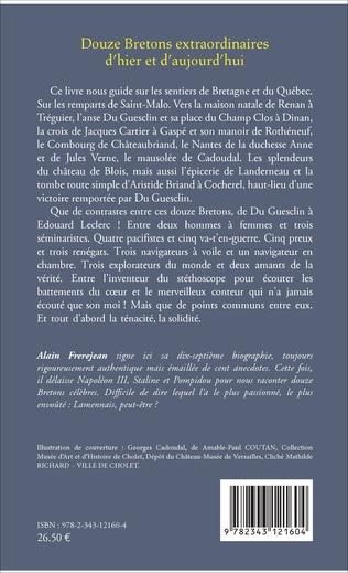4eme Douze Bretons extraordinaires d'hier et d'aujourd'hui