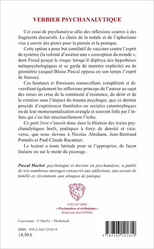 4eme Verbier psychanalytique