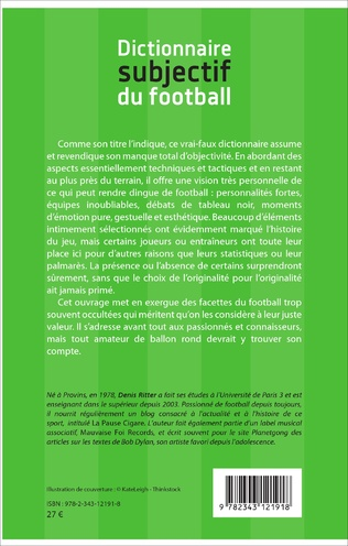 4eme Dictionnaire subjectif du football