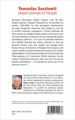 4eme Venceslas Gasztowtt, citoyen polonais et français