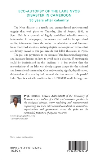 4eme Eco-autopsy of the lake Nyos disaster in Cameroon