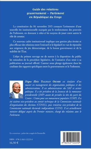 4eme Guide des relations gouvernement - Parlement en République du Congo