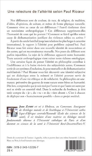 4eme Une relecture de l'altérité selon Paul Ricœur