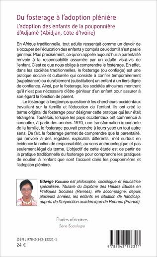 4eme Du fosterage à l'adoption plénière