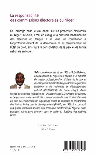4eme La responsabilité des commissions électorales au Niger