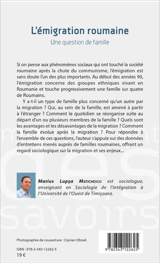 4eme L'émigration roumaine