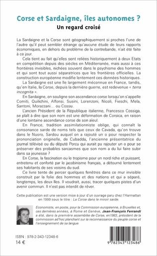 4eme Corse et Sardaigne, îles autonomes ?