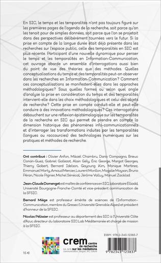 4eme Temps et temporalités en information-communication