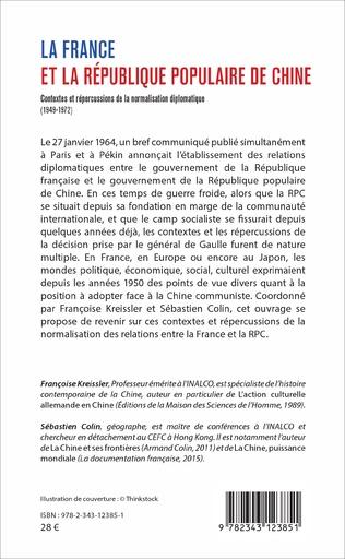 4eme La France et la République populaire de Chine
