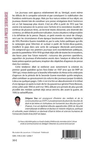 4eme Histoire de la presse sénégalaise Tome 1 Volume 2