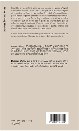 4eme Oujda ou Une enfance marocaine