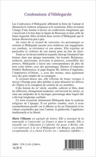 4eme Confessions d'Hildegarde