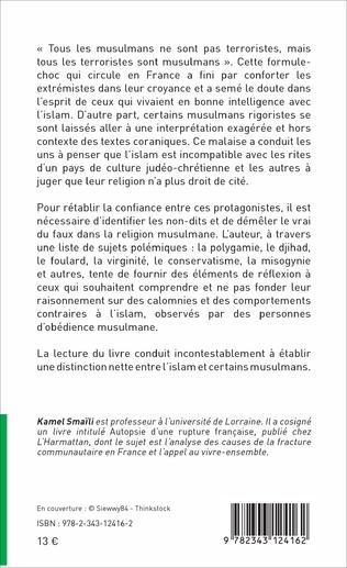 4eme Islam : méconnaissance et malentendu