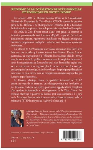 4eme Réforme de la formation professionnelle et technique en Côte d'Ivoire