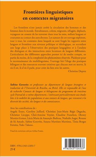 4eme Frontières linguistiques en contextes migratoires