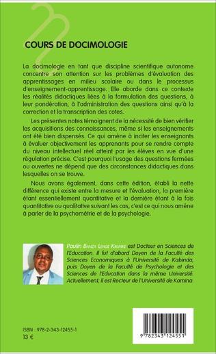 4eme Cours de docimologie