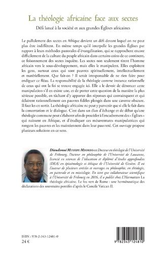 4eme Théologie africaine face aux sectes