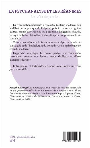 4eme La psychanalyse et les réanimés