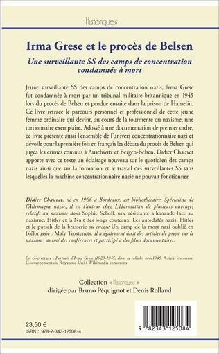 4eme Irma Grese et le procès de Belsen