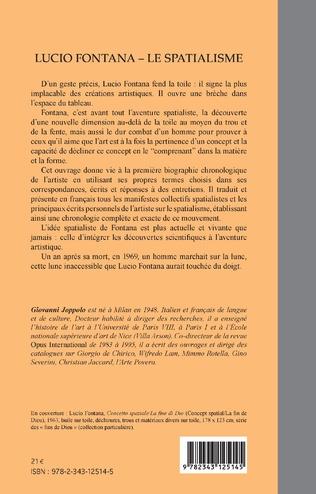 4eme Lucio Fontana - Le Spatialisme