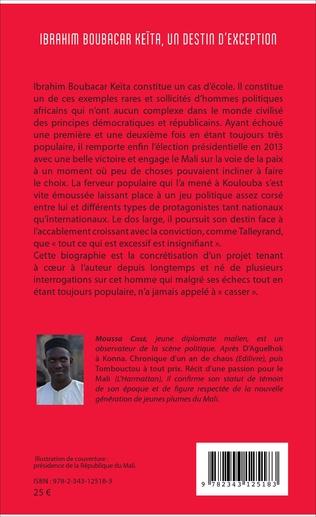 4eme Ibrahim Boubacar Keïta, un destin d'exception