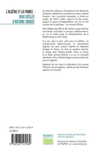 4eme L'Algérie et la France : deux siècles d'histoire croisée