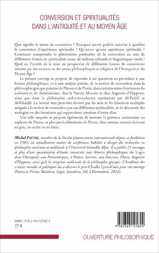 4eme Conversion et spiritualités dans l'Antiquité et au Moyen Âge