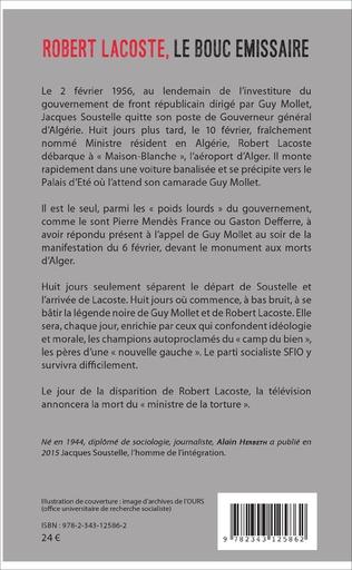 4eme Robert Lacoste, le bouc émissaire