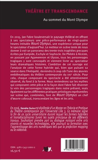 4eme Théâtre et transcendance