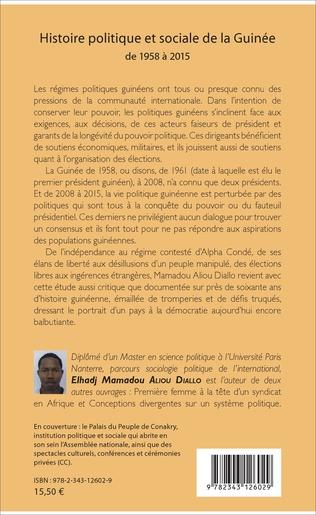 4eme Histoire politique et sociale de la Guinée