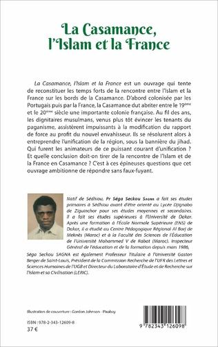 4eme La Casamance, l'Islam et la France