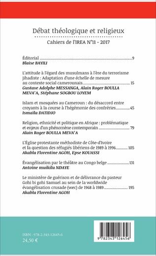 4eme Débat théologique et religieux