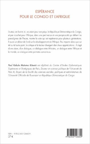 4eme Espérance pour le Congo et l'Afrique