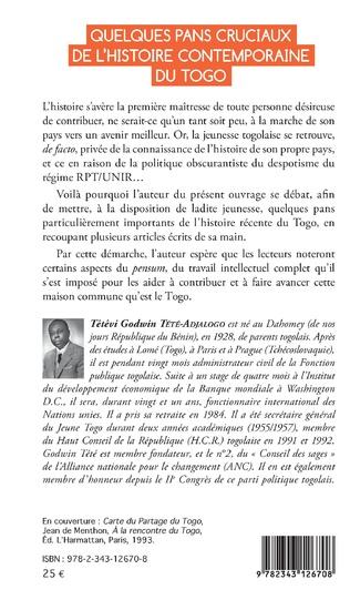 4eme Quelques pans cruciaux de l'histoire contemporaine du Togo