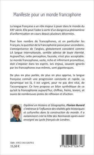 4eme Manifeste pour un monde francophone