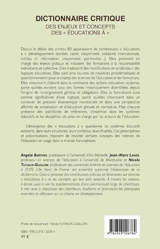 4eme Dictionnaire critique
