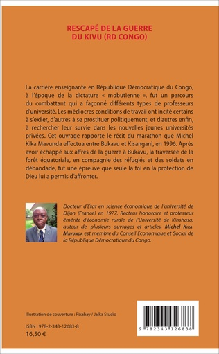 4eme Rescapé de la guerre du Kivu (RD Congo)