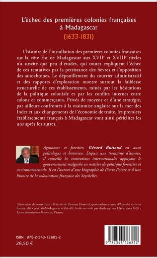 4eme L'échec des premières colonies françaises à Madagascar