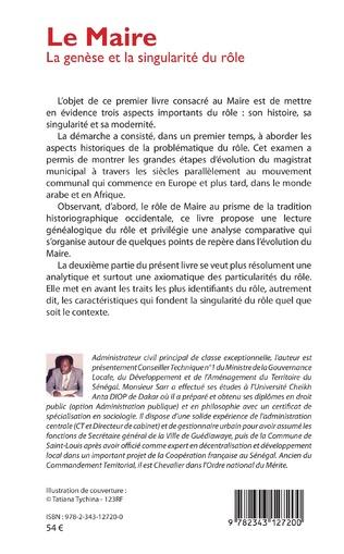 4eme Le Maire. La genèse et la singularité du rôle