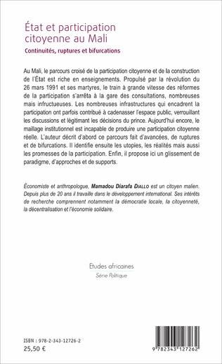4eme État et participation citoyenne au Mali