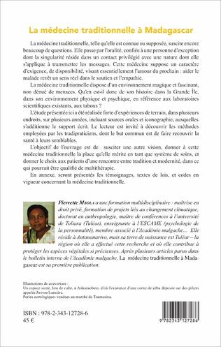 4eme La médecine traditionnelle à Madagascar