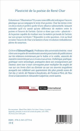 4eme Plasticité de la poésie de René Char