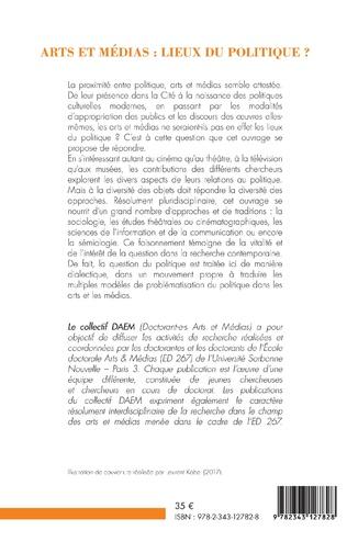 4eme Arts et médias : lieux de politique ?