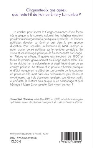 4eme Cinquante-six ans après, que reste-t-il de Patrice Emery Lumumba ?