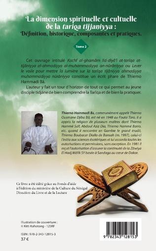 4eme La dimension spirituelle et culturelle de la tariqa tijjaniyya : Définition, historique, composantes et pratiques Tome 2