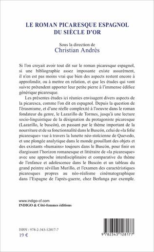 4eme Le roman picaresque espagnol du Siècle d'Or